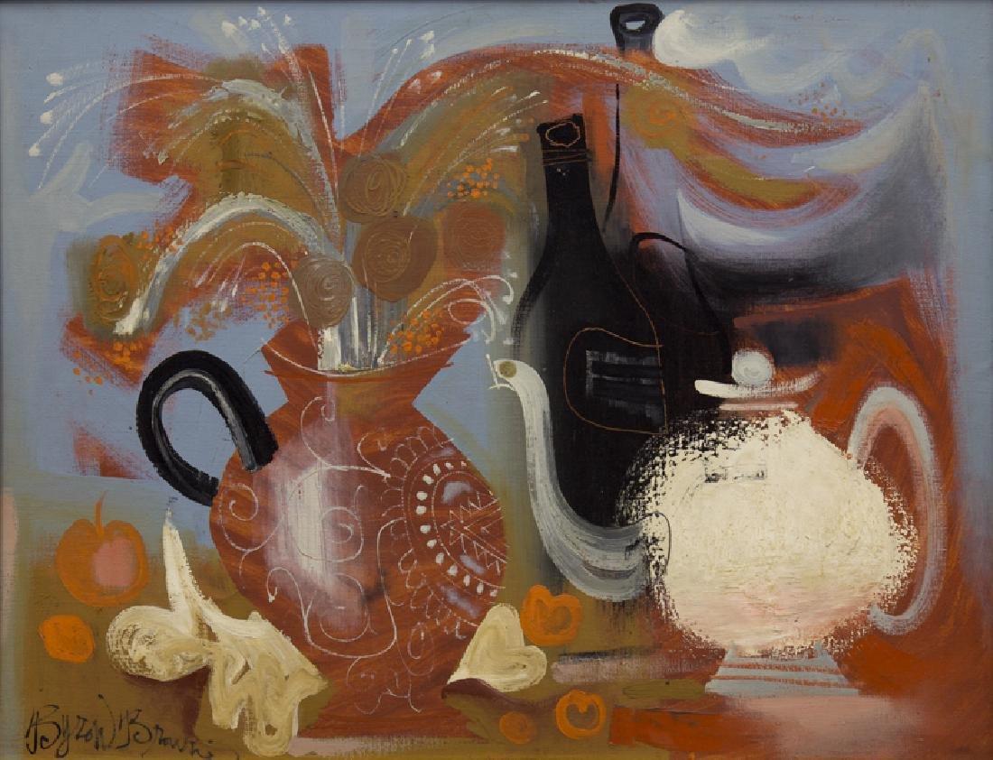Byron Browne    The White Pitcher  (1958) - 2