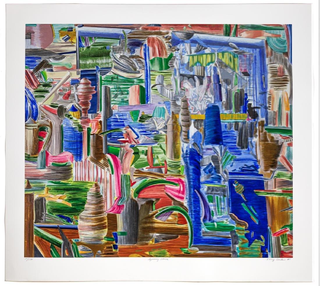 Larry Dinkin    Spinning Glass  (2005)