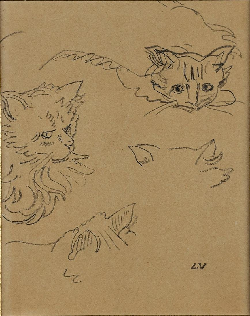 Louis Valtat    Studies of a Cat