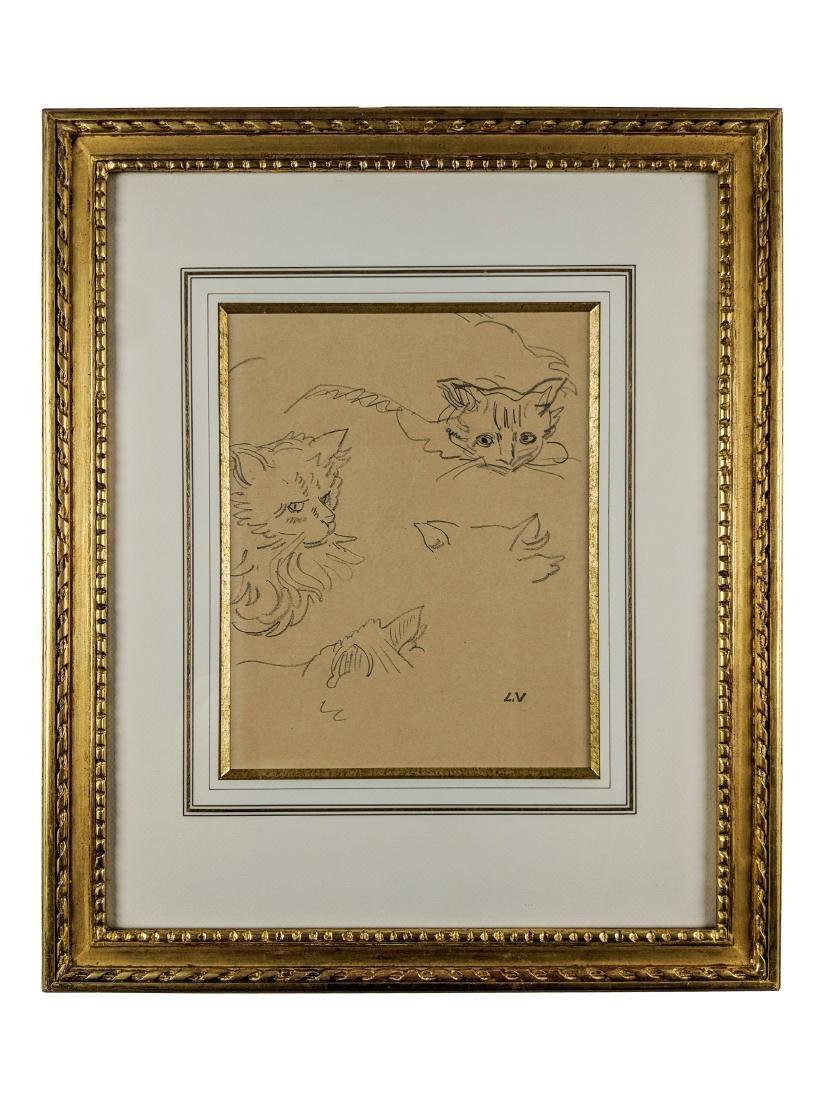 Louis Valtat    Studies of a Cat - 2