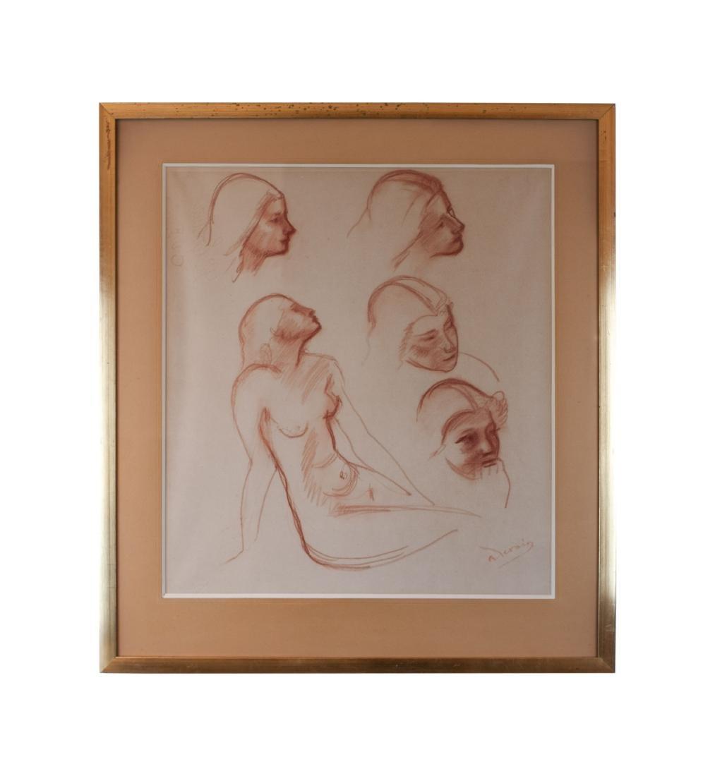 André Derain    Studies of a Figure - 2