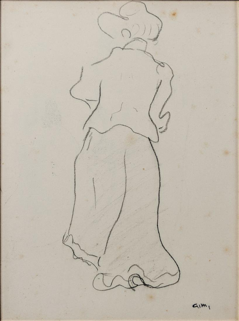 Albert Marquet    Study of a Woman (recto/verso) - 2