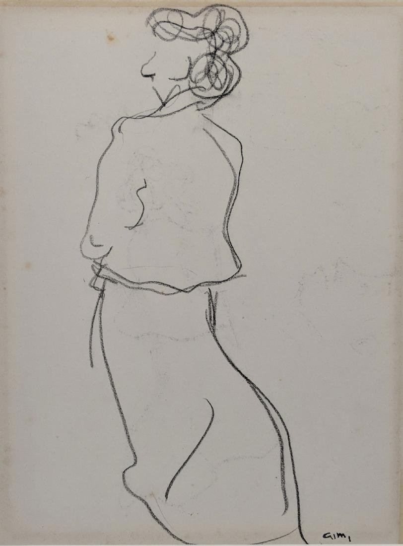 Albert Marquet    Study of a Woman (recto/verso) - 4