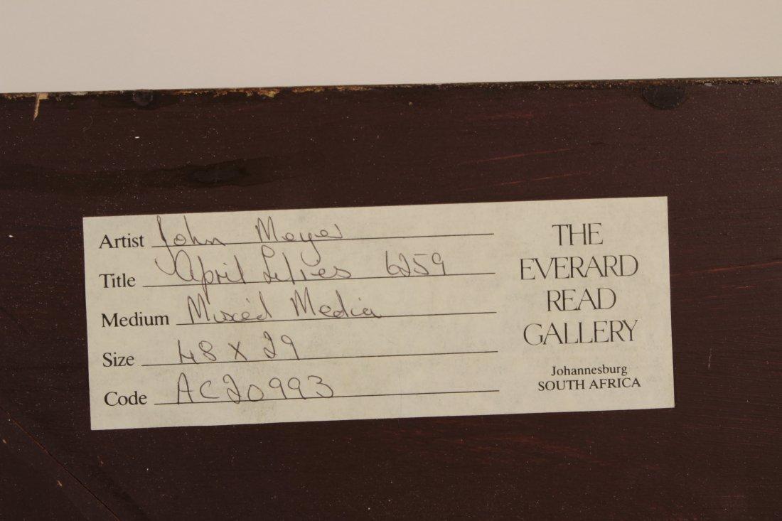 John Meyer    April Lilies, 62.59 - 4