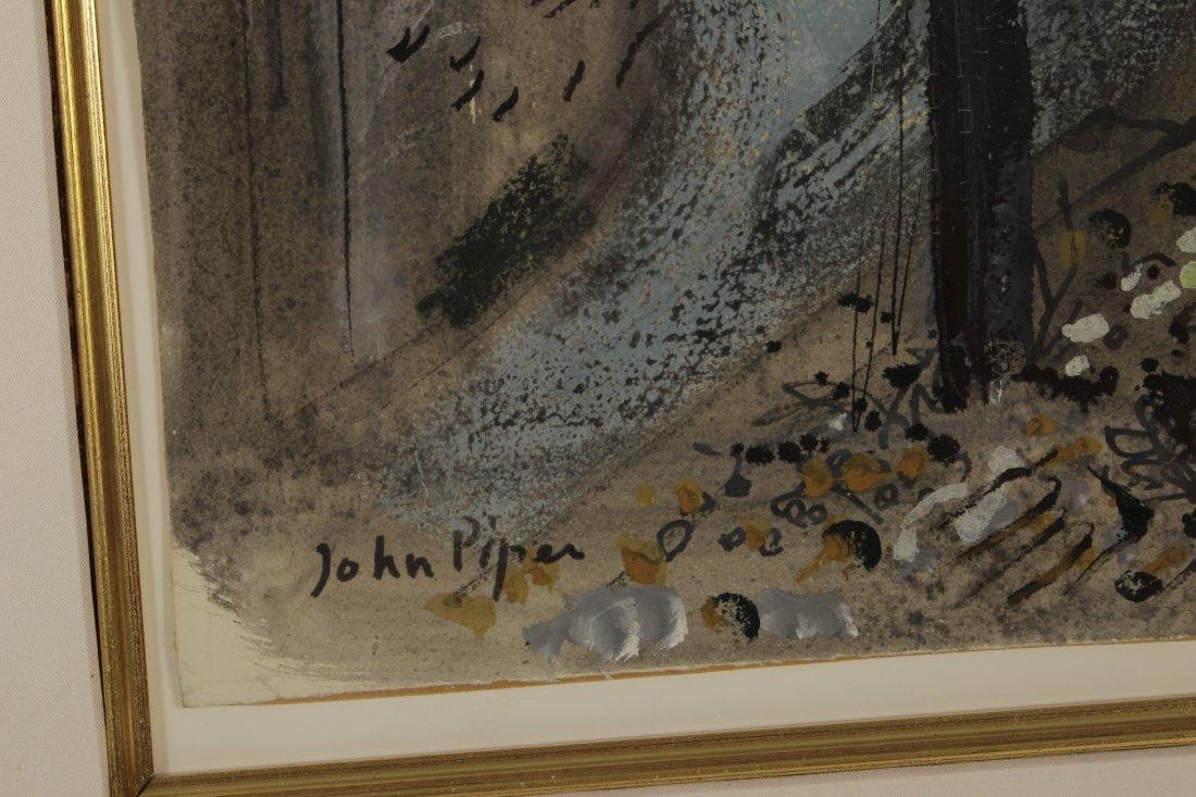 John Piper    Freshwater Isle of Wight  (1953) - 4