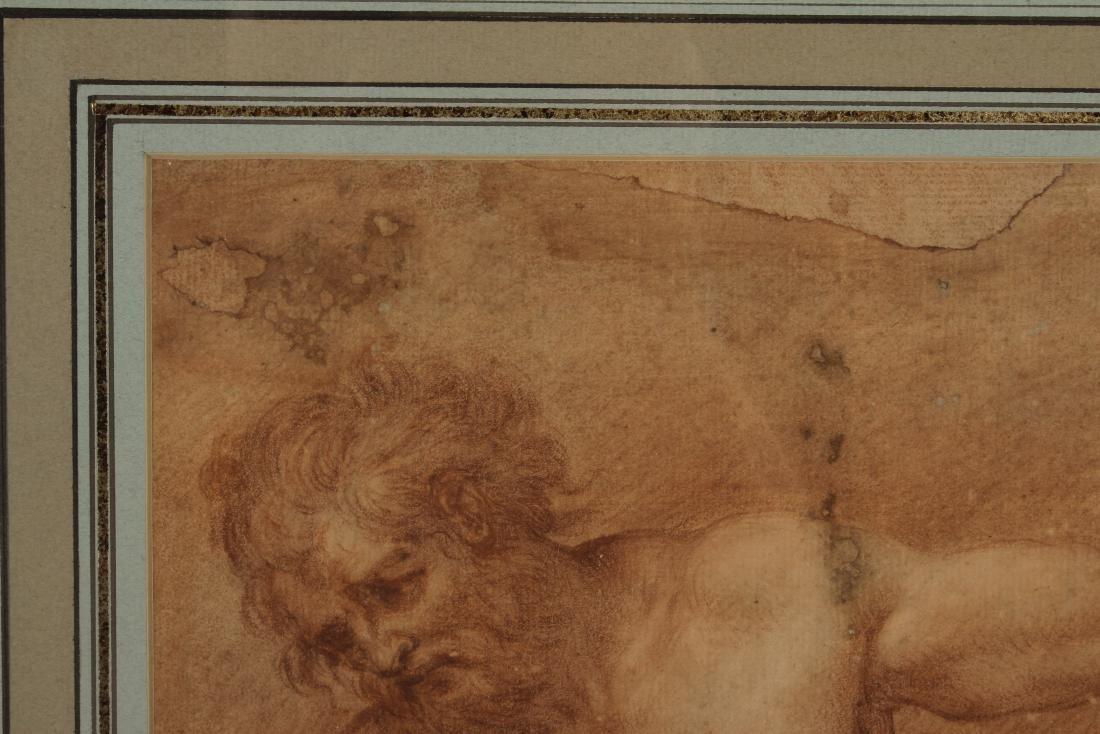 After Francesco de Maria    Figure Study of Neptune - 3