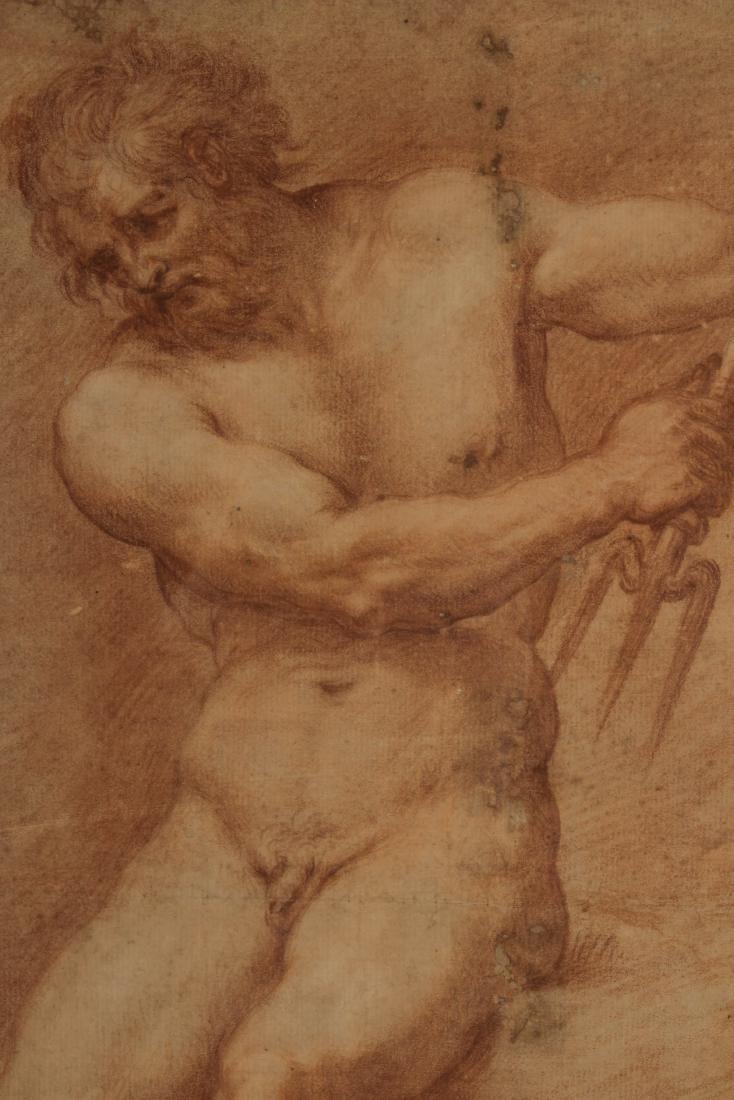 After Francesco de Maria    Figure Study of Neptune - 5