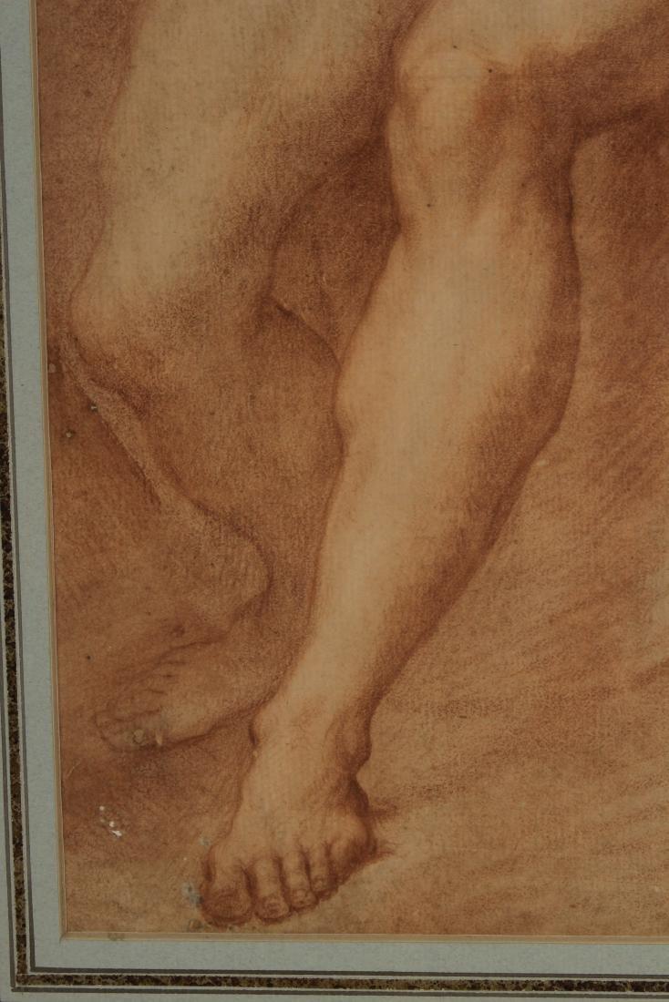 After Francesco de Maria    Figure Study of Neptune - 6