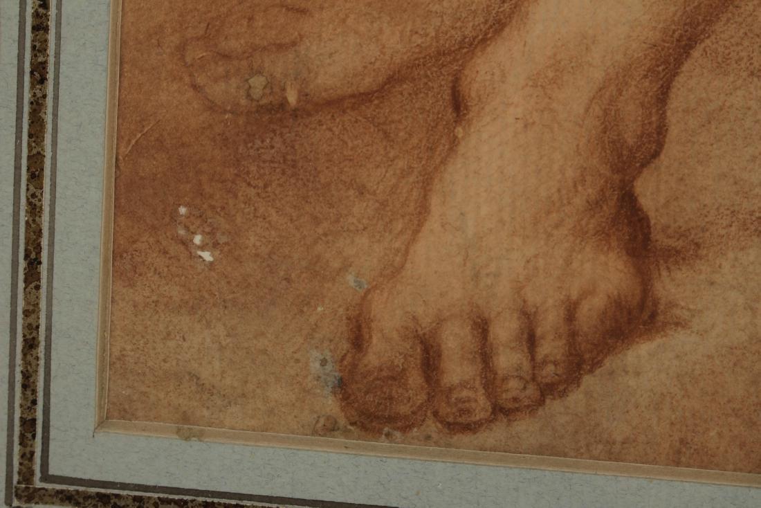 After Francesco de Maria    Figure Study of Neptune - 7