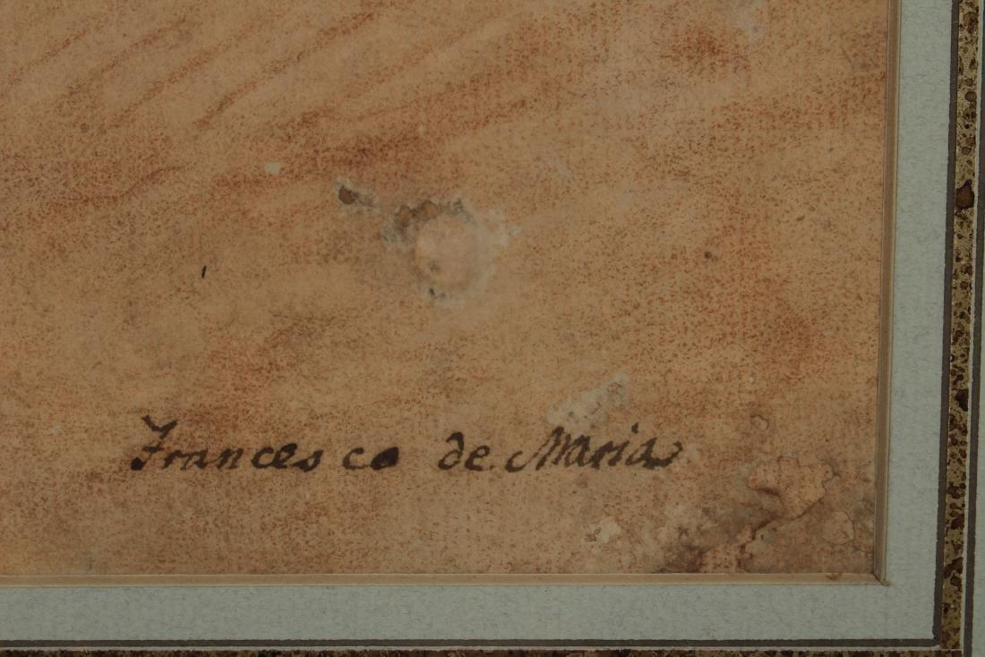 After Francesco de Maria    Figure Study of Neptune - 8