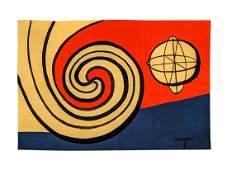 After Alexander Calder - Le Sphere et Les Spirales