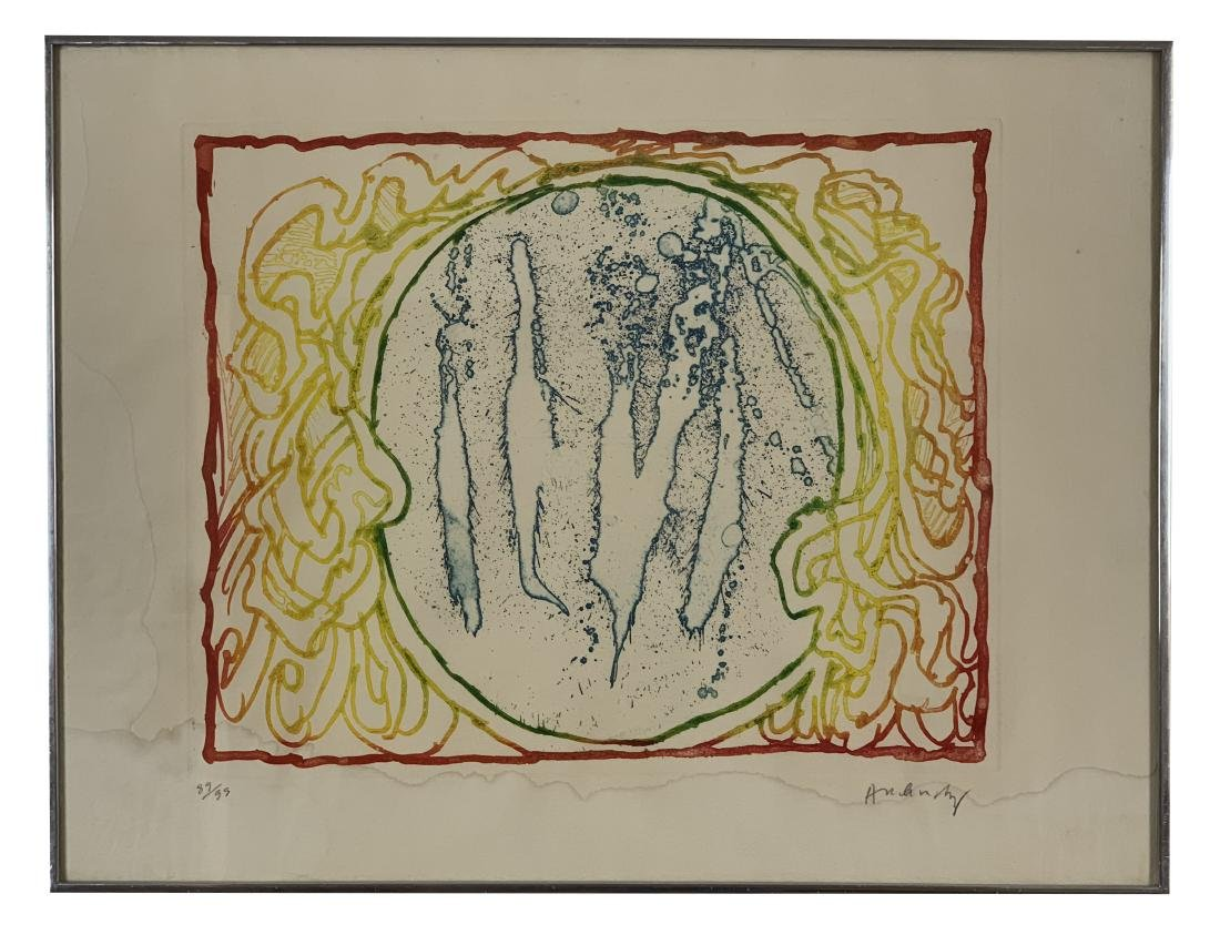 Pierre Alechinsky - Series of 9 lithographs - 10