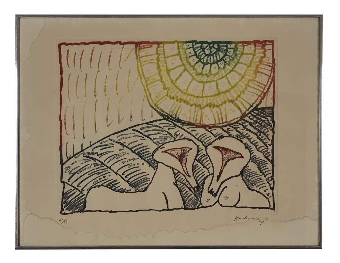Pierre Alechinsky - Series of 9 lithographs - 4