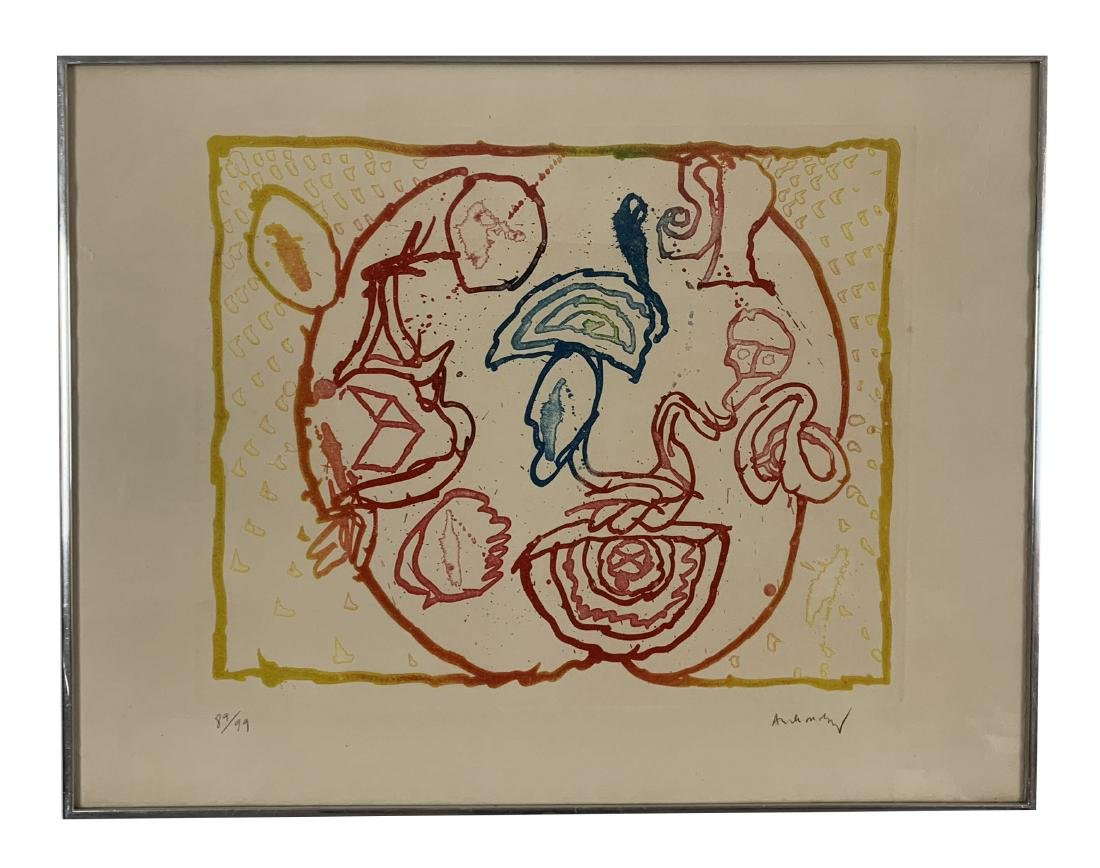 Pierre Alechinsky - Series of 9 lithographs - 5