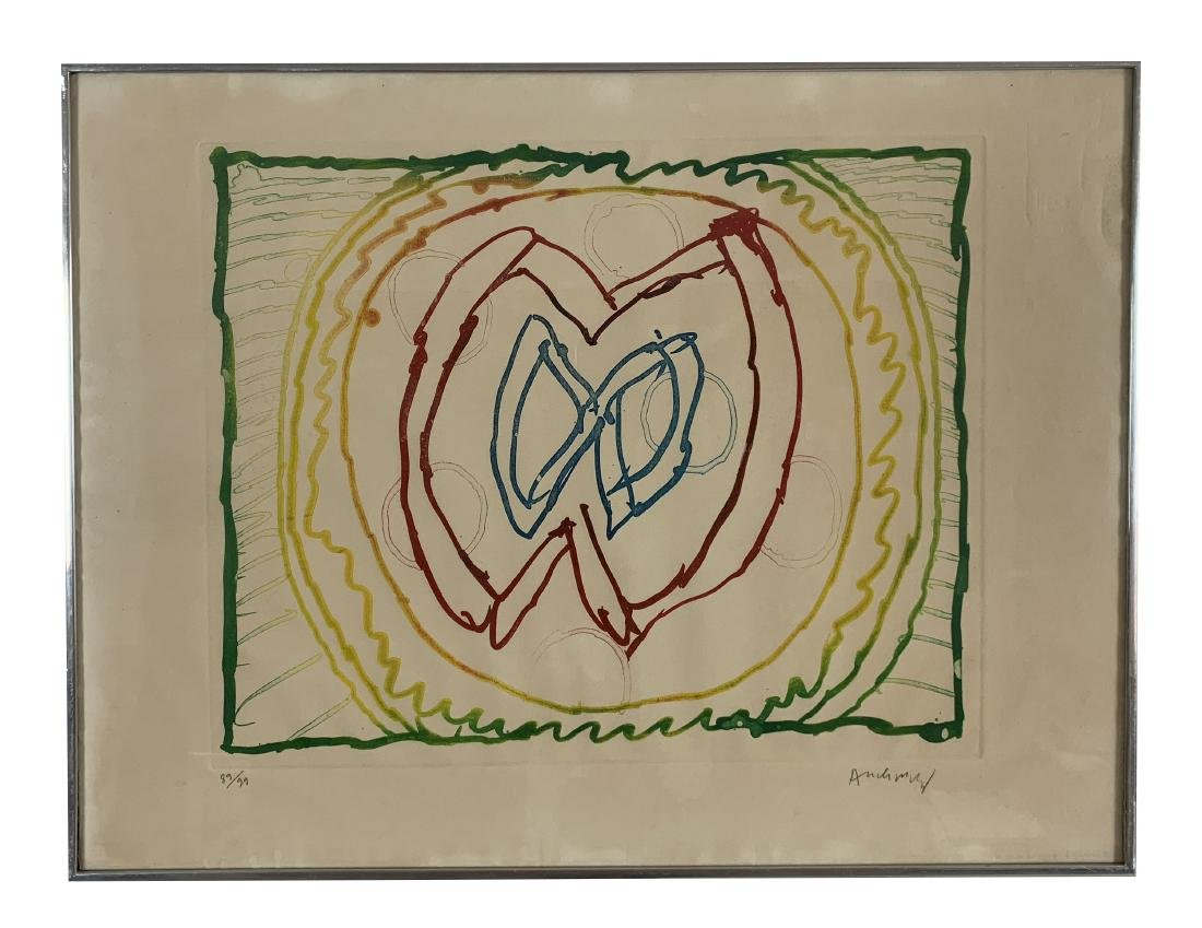 Pierre Alechinsky - Series of 9 lithographs - 8