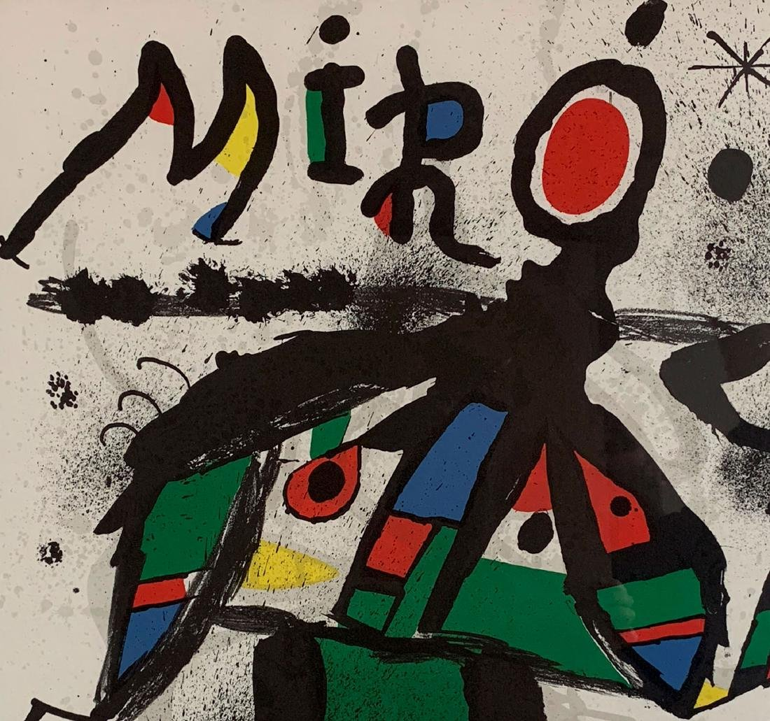 Joan Miro - Lithograph for Miro Exhibition at Maeght