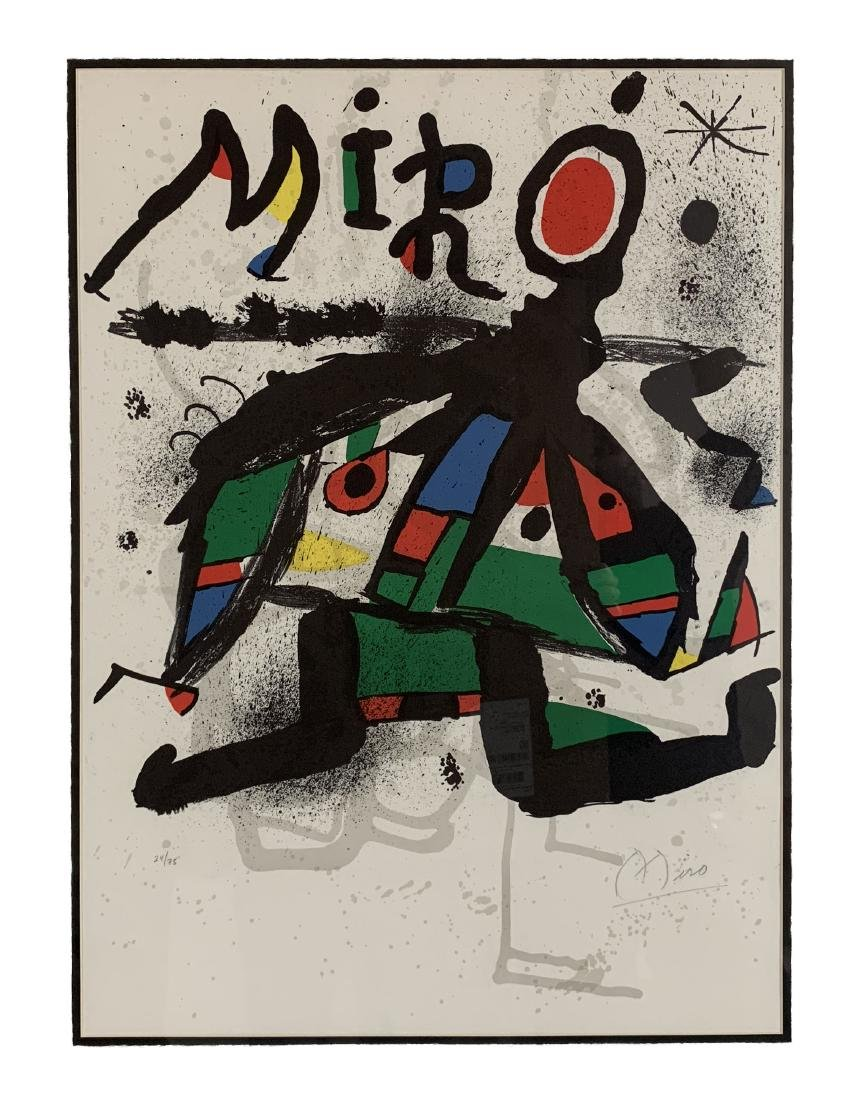 Joan Miro - Lithograph for Miro Exhibition at Maeght - 2