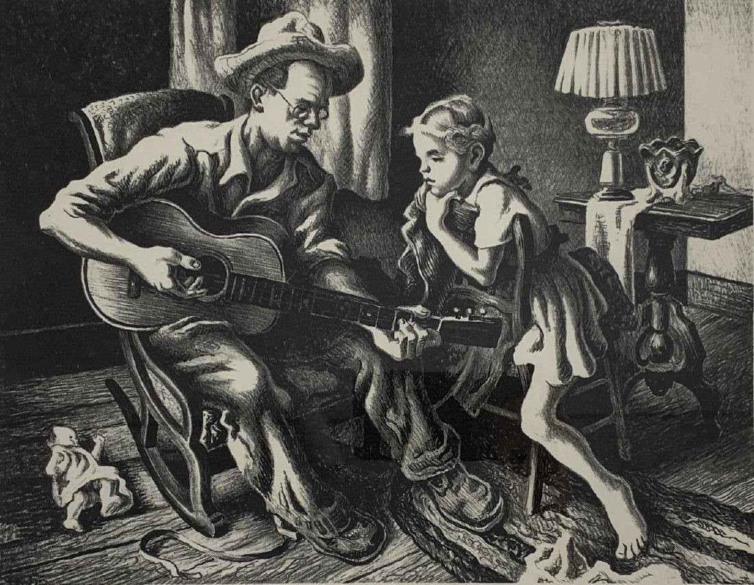 Thomas Hart Benton - The Music Lesson (F. 60)