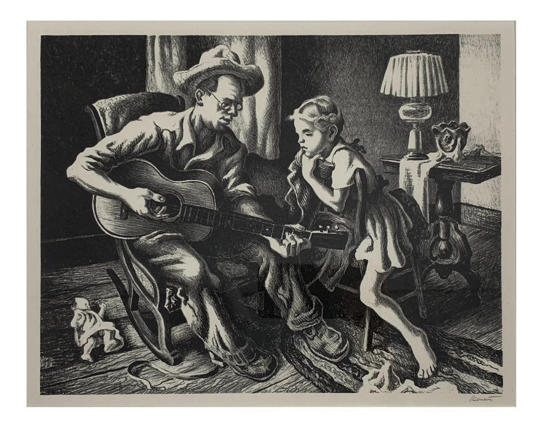 Thomas Hart Benton - The Music Lesson (F. 60) - 2