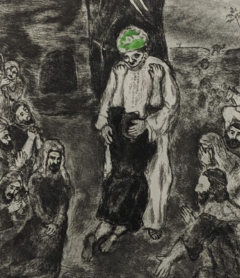 Marc Chagall - Joseph reconnu par ses Freres (etching)