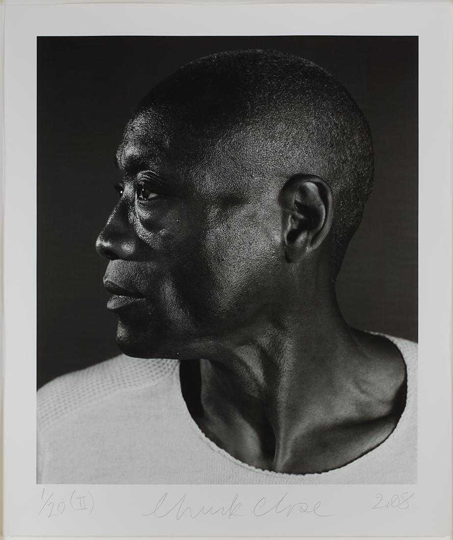 Chuck Close - Untitled (Bill T. Jones) Diptych (2008) - 3