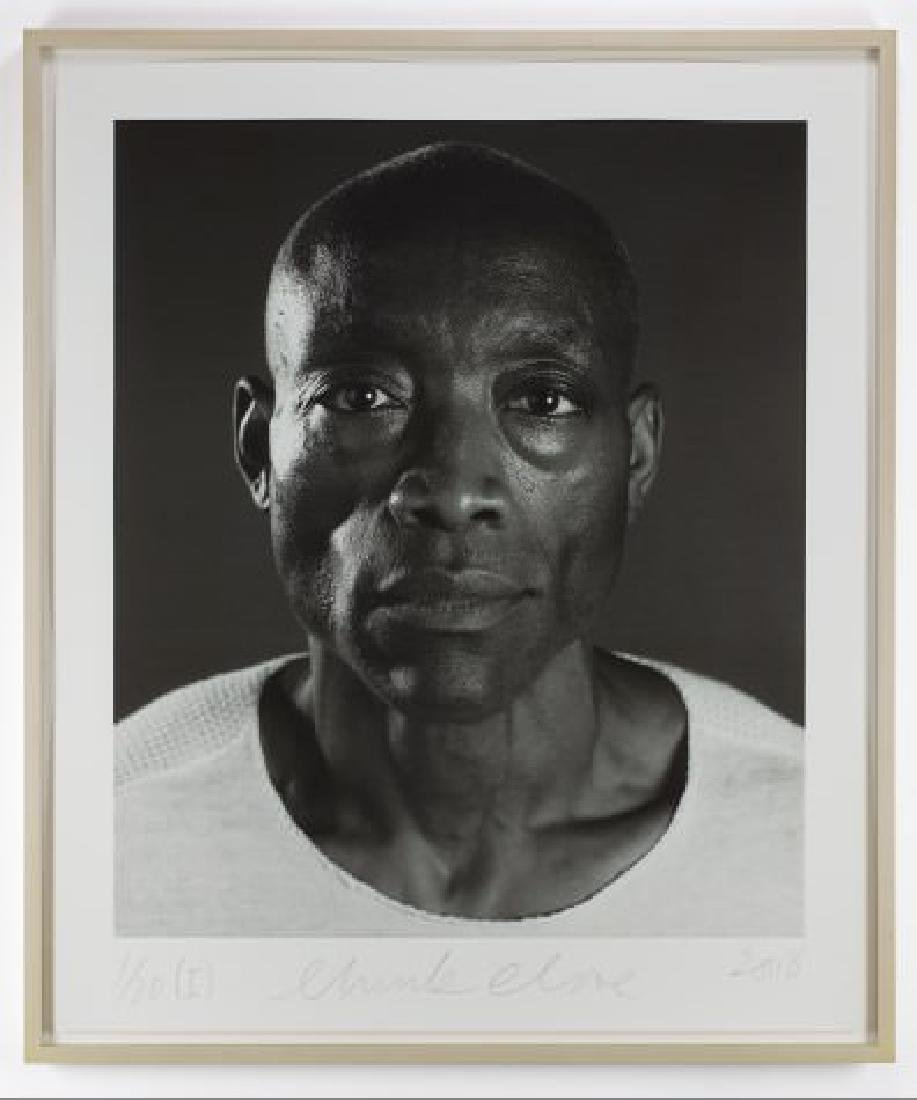 Chuck Close - Untitled (Bill T. Jones) Diptych (2008) - 4