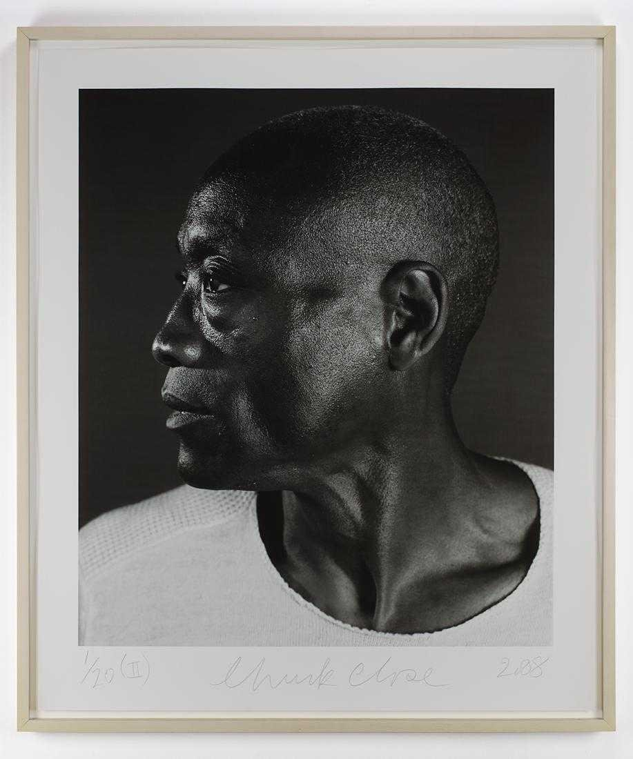 Chuck Close - Untitled (Bill T. Jones) Diptych (2008) - 5