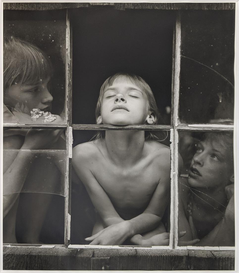 Jock Sturges - Christina, Misty Dawn and Alysa XL 2/15
