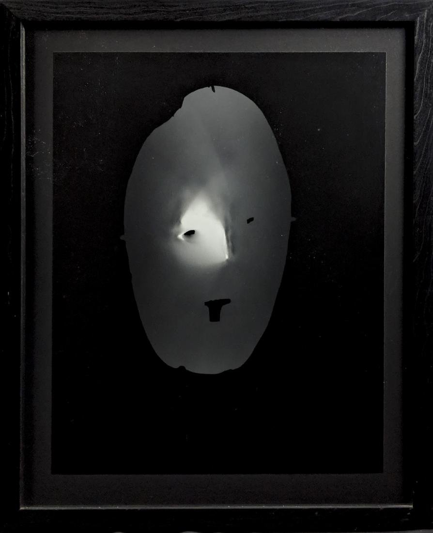 Adam Fuss - Untitled (Mask) PHOTOGRAM - 2