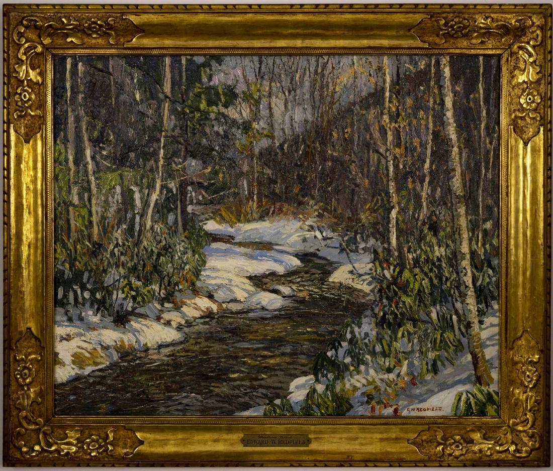 Edward Willis Redfield - Woodland Brook