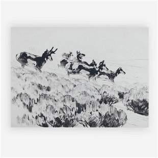 Carl Rungius - Antelope