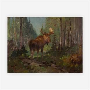 Carl Rungius - Woodland moose