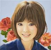 Ken Matsuyama - Ohkubi-e: Face Portrait (Feminine