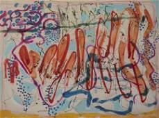 Nancy Graves - Untitled (Orange)