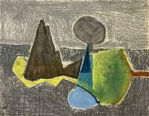 Benoît Gilsoul - Untitled (Abstract landscape)