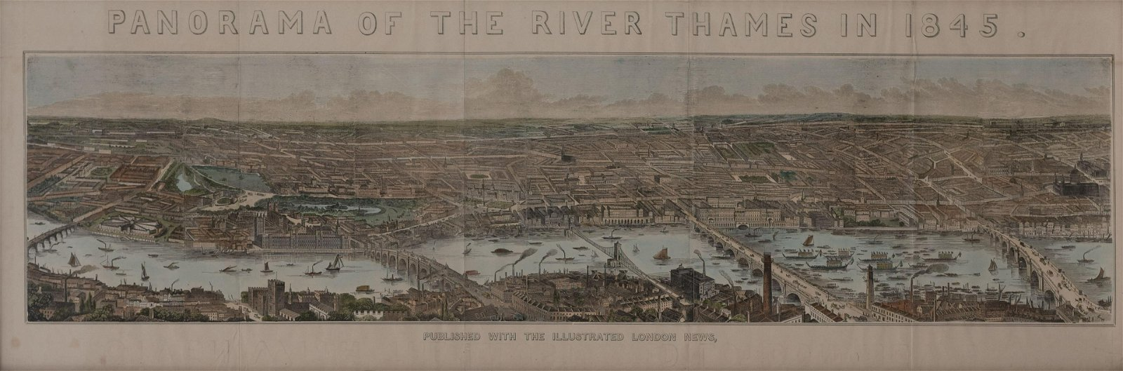 Artist Unknown - The Illustrated London News Panorama