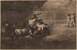 after Francisco Jos de Goya y Lucientes  Bullfighting
