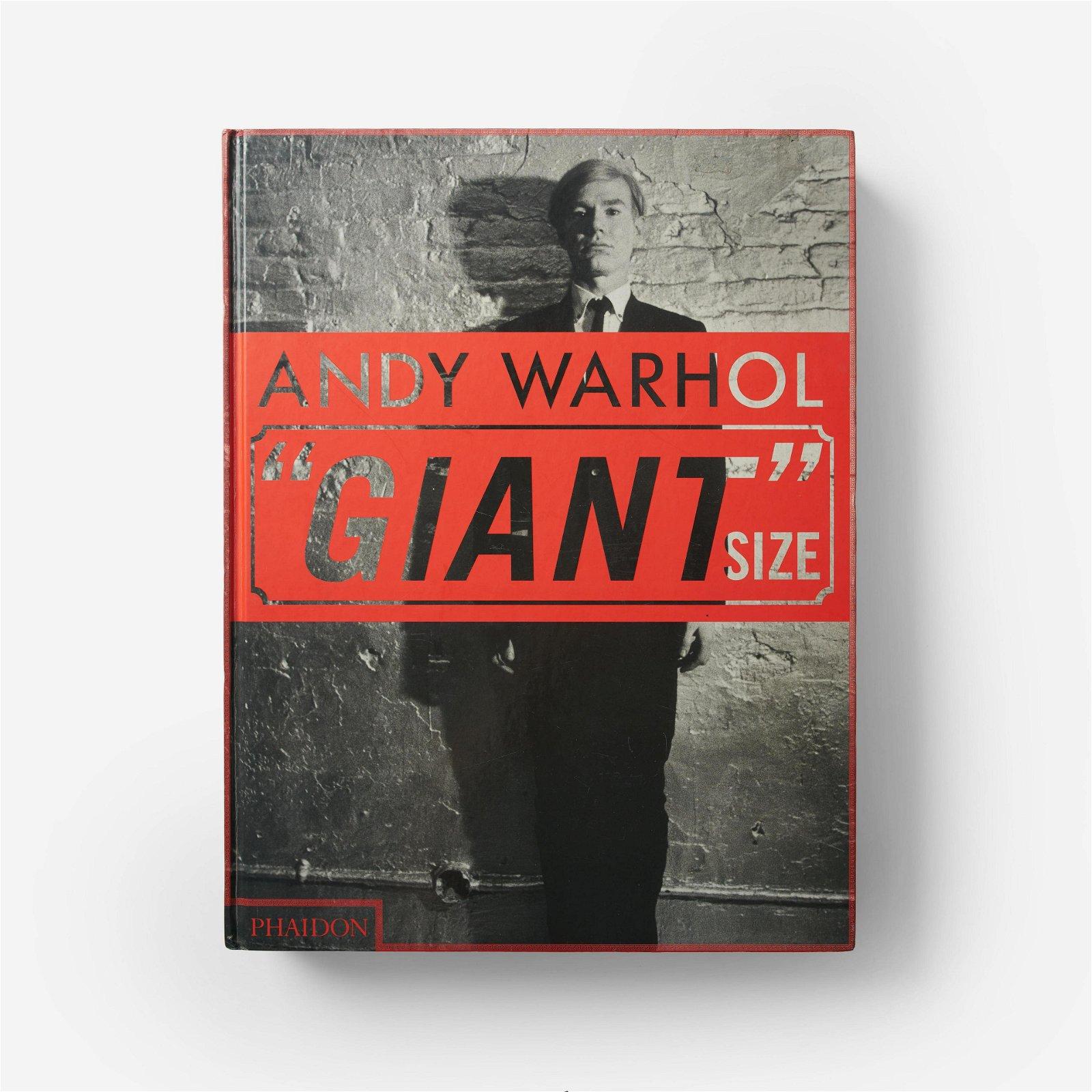 Phaidon Editors - Andy Warhol 'Giant' Size Phaidon Book