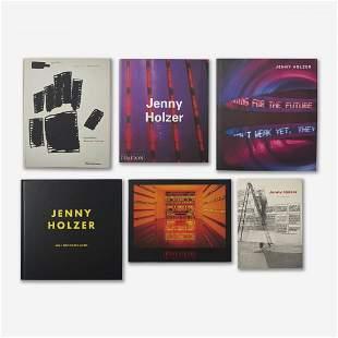 group of Jenny Holzer books
