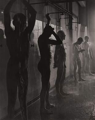 Herbert List - Workers in the Shower