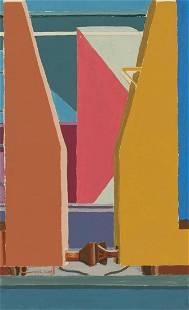 Henry Chodkowski - Study for Bulkhead Flats I
