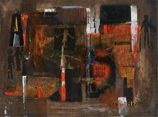 Lynne Flexner Berger - Untitled (Collage)