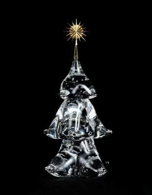 James Houston for Steuben Glass - Christmas Tree
