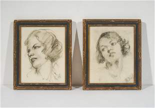 Unknown Artist - Group (Two portraits of women)