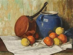 Unknown Artist - Untitled (Still life with oranges)