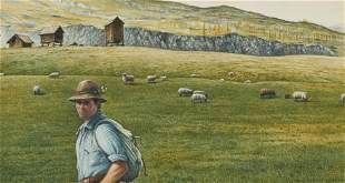 Reynolds Thomas - Untitled (Sheep in the field)