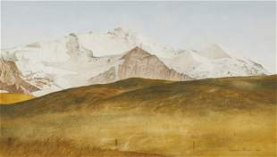 Reynolds Thomas - Untitled (Mountain scene)