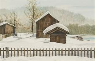 Reynolds Thomas - Snow Scene