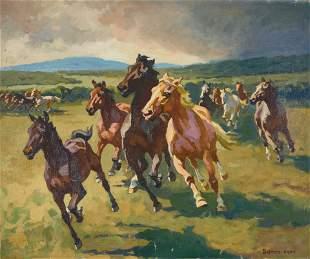 Istvan Benyovszky - Wild Horses