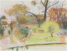 Wolf Kahn - Principessa Gardens, Florence